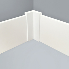 Cantoneira para Parede de Sobrepor Plástico Branco 60x60x125mm Wallstyl