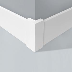 Cantoneira para Parede de Sobrepor Plástico Branco 60x60x165mm Wallstyl