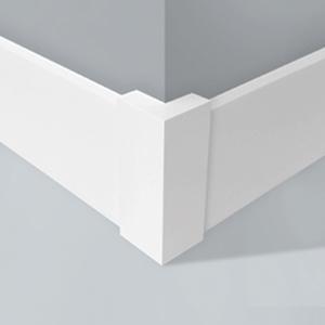 Cantoneira para Parede de Sobrepor Plástico Branco 60x60x215mm Wallstyl