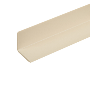Cantoneira Parede Marfim 2,5x2,5x300cm Tecnoperfil