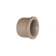 "Cap Marrom PVC Água Fria 20mm ou 1/2"" Plastilit"
