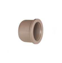 """Cap Marrom PVC Água Fria 50mm ou 1.1/2"""" Tigre"""