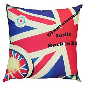 Capa Almofada Rock & Roll Inglaterra 40X40cm B-On