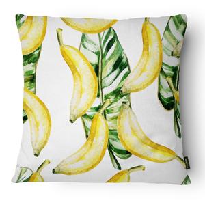 Capa de Almofada Banana Folha 43x43cm