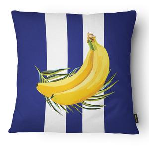 Capa de Almofada Banana Listra 43x43cm