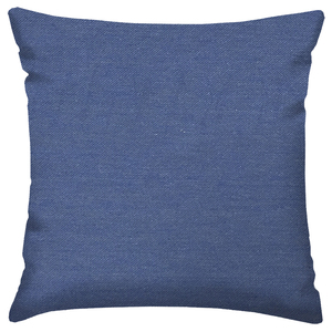 Capa de Almofada denim Azul 45x45cm