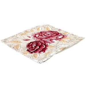 Capa de Almofada Duas Rosas 40x40cm Importado