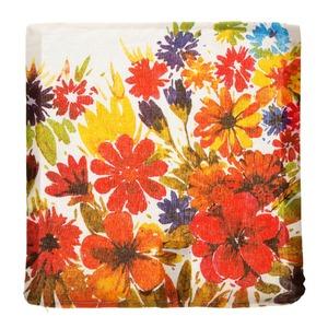 Capa de Almofada Floral Lenga 45x45cm Importado