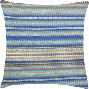 Capa de Almofada Horizontal Azul 50x50cm