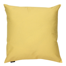 Capa de Almofada Lisa Amarelo Claro 45x45cm