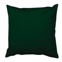 Capa de Almofada Lisa Floral Verde 45x45