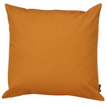 Capa de Almofada Lisa Laranja Escuro 45x45cm