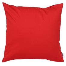 Capa de Almofada Lisa Vermelho Escuro 45x45cm