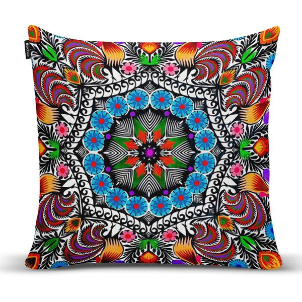 3f93214d7 Capa de Almofada Mandala Color Colorida 43x43cm