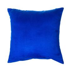 Capa de Almofada Suede Azul 45x45cm