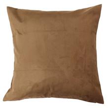 Capa de Almofada Suede Marrom 60x60cm