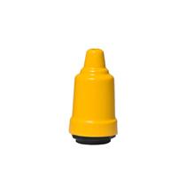 Capa de Soquete E27 Metal Amarelo