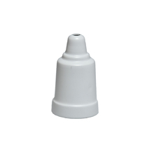 Capa de Soquete E27 Metal Branco