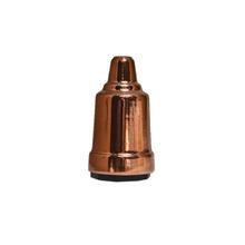Capa de Soquete E27 Metal Cobre