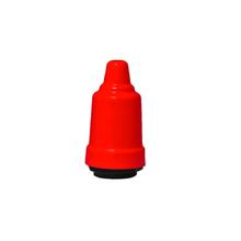 Capa de Soquete E27 Metal Vermelho