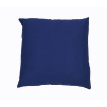 Capa para Almofada Algodão Azul e Marrom 45x45cm Inspire