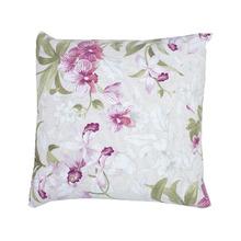 Capa para Almofada Floral Tecido de Gorgurão Impermeável Rosa 45x45cm Inspire