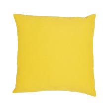 Capa para Almofada Oxford Amarelo 45x45cm Inspire