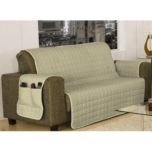 Protetor para sof 3 lugares matelado bege 1 00x1 95m - Fundas sofa leroy merlin ...