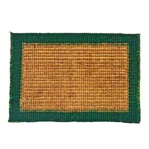 Capacho Fibra Sisal Verde 40x60cm W.A.Valente