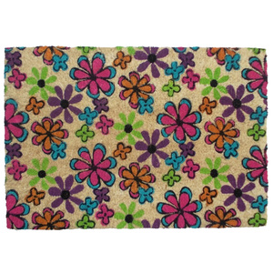 Capacho Flores Colorido 0,40x0,60m