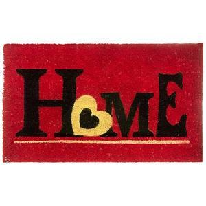 Capacho Home Vermelho 45x75cm