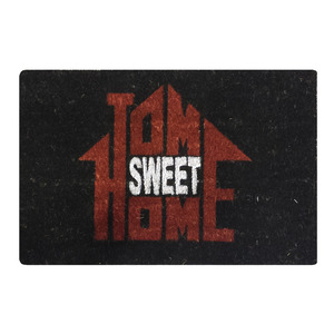 Capacho Sweet Home Preto 0,40x0,60m