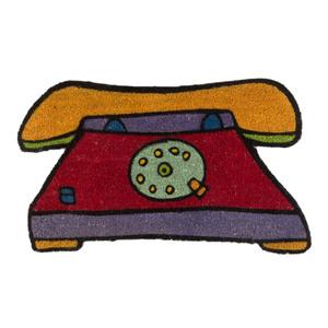 Capacho Telefone Colorido 0,42x0,75m