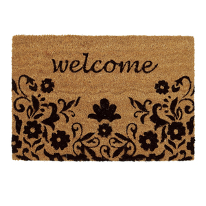Capacho Tropical Welcome Natural 40x60cm