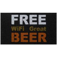 Capacho Vinil Super Print Free Beer 40x75cm