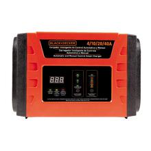 Carregador de Bateria Automatico e manual 40 amperes  BC40 127V (110V) Black&Decker