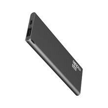 Carregador Portátil Power Bank USB 2,1A Slim 3000MAH Preto Easy Mobile