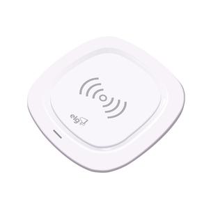 Carregador sem Fio Wireless por Indução de Mesa Branco ELG