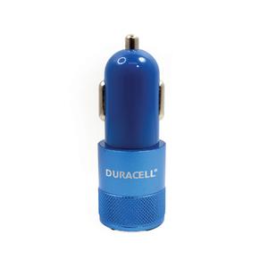Carregador Veicular Duplo USB Azul