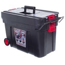 Carrinho para Ferramentas Plástico 42x65x38cm Preto e Vermelho