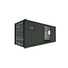 Casa Container 20 pés, 14,70m² Box Container