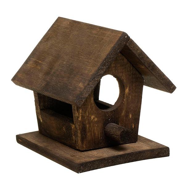Casa de p ssaro madeira 13cm marrom leroy merlin - Numeros para casas leroy merlin ...