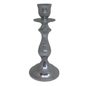 Castiçal de Alumínio Camila 18,5cm