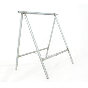 Cavalete de Ferro Suporte para Piso Cromado Construfort 80x60x80cm Alambre
