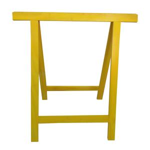 Cavalete para Móveis Dobrável até 150Kg Madeira de Reflorestamento Amarelo Massol