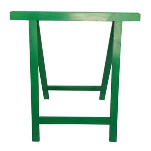 Cavalete para Móveis Dobrável até 150Kg Madeira de Reflorestamento Verde Massol