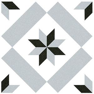 Cerâmica Hidráulica Borda Arredondada Acetinado Calvet Gris 20x20cm Colormix