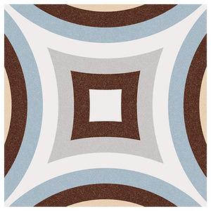 Cerâmica Hidráulica Borda Arredondada Acetinado Dorda Celeste 20x20cm Colormix