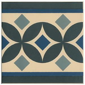 Cerâmica Hidráulica Borda Arredondada Acetinado Guell-2 20x20cm Colormix