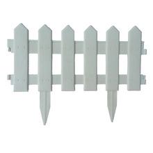 Cerca de PVC Fronteira Clássica Branco 22x40cm